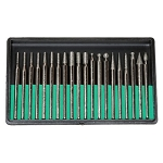Diamond Point Bit Set 20 Pieces - 180 Grit (6 piece min)