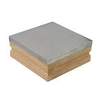 Bench Block With Wood Base 3 Inches (6 piece min)