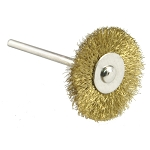 Brass Brush - Wheel Mounted 3/4