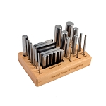 Swage Block & Punch Set With Wood Stand (2 piece min)