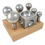 Extra Large 6-Piece Steel Dapping Doming Block Set (2 piece min)