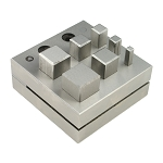 Disc Cutter - Square - 7 Punches (2 piece min)
