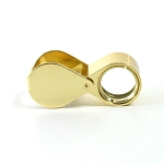 Loupe Triplet 10x Gold Finish (6 piece min)