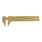 Brass Slide Gauge - 100mm (6 piece min)