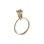 Display Ring - Gold Tone (6 piece min)