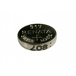 #317 (SR516SW) Renata Mercury Free Watch Batteries (100 piece min)