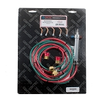 Gentec Small Torch Oxy/Acetylene kit 6 foot hoses with tips #2-6 (2 piece min)